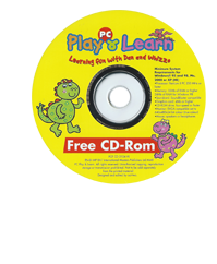 PC Play and Learn DVD Front Cover